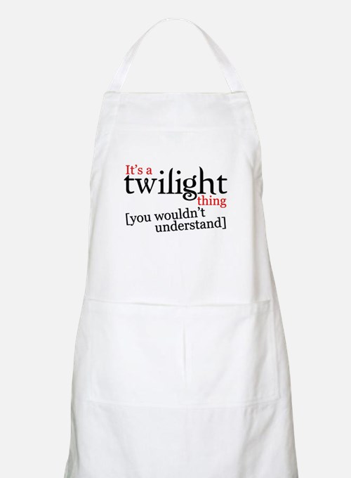It's a Twilight thing you wou BBQ Apron
