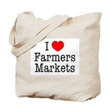 I Heart Farmers Markets Tote Bag