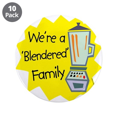"Blendered Family 3.5"" Button (10 pack)"