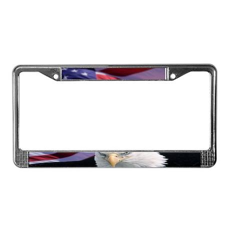 No Text - Bald Eagle License Plate Frame
