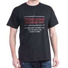 Remember the Code - Black T-Shirt
