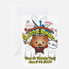 Cute Wombats Greeting Card
