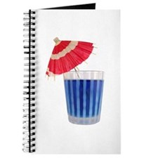 Red, White and Blue Drink Journal