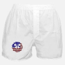 USA Wreath Boxer Shorts