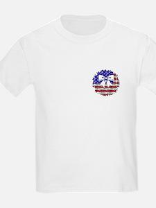USA Wreath Kids T-Shirt