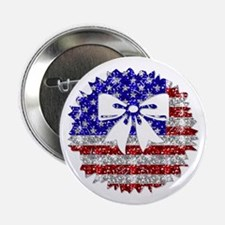 "USA Wreath 2.25"" Button (10 pack)"