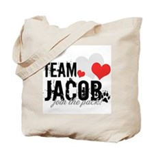 Team Jacob - Join the Pack! Tote Bag