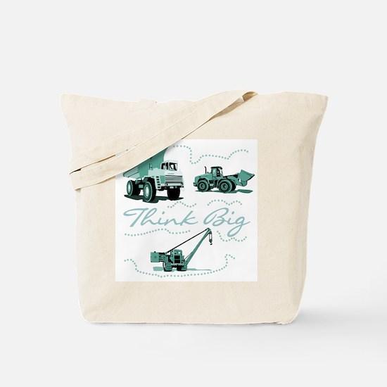 Think Big Construction Tote Bag