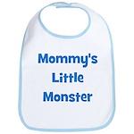 Mommy's Little Monster Bib
