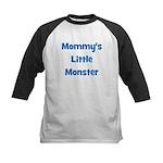 Mommy's Little Monster Kids Baseball Jersey