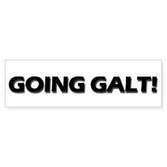 Going Galt! Bumper Sticker (10 pk)