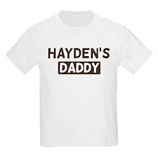 Haydens Daddy T-Shirt