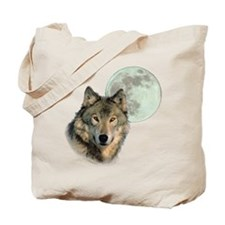 Wolf Moon Tote Bag