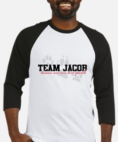 Team Jacob - Because real men Baseball Jersey