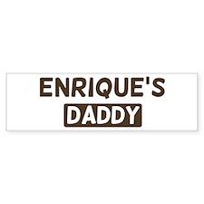 Enriques Daddy Bumper Bumper Stickers