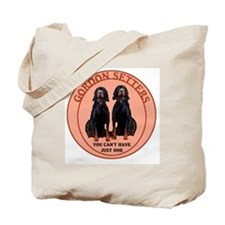 Gordon setter just one Tote Bag