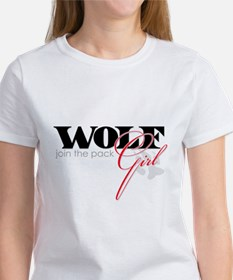 Wolf Girl - join the pack! Tee