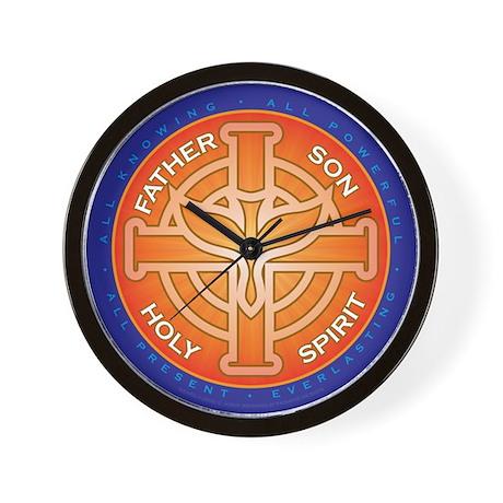 Trinity Seal. Wall Clock