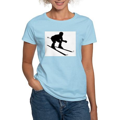 SKI DOWNHILL Women's Light T-Shirt