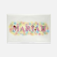 """Mariah"" with Mice Rectangle Magnet"