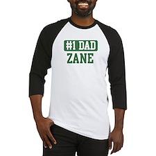 Number 1 Dad - Zane Baseball Jersey