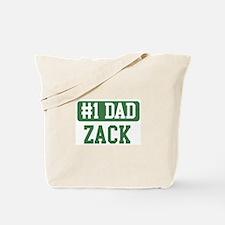 Number 1 Dad - Zack Tote Bag