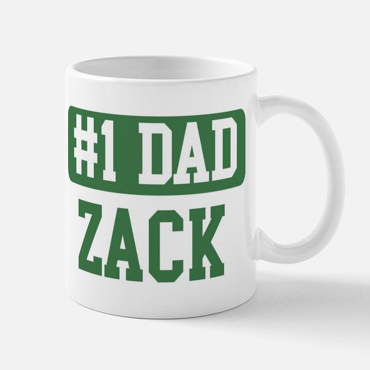 Number 1 Dad - Zack Mug