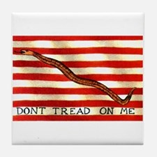 First Navy Jack Tile Coaster