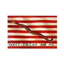 First Navy Jack Rectangle Magnet