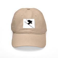 DOWNHILL SKIER Baseball Cap
