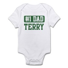 Number 1 Dad - Terry Infant Bodysuit