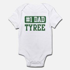 Number 1 Dad - Tyree Infant Bodysuit