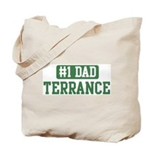 Number 1 Dad - Terrance Tote Bag