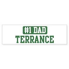 Number 1 Dad - Terrance Bumper Bumper Sticker