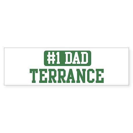 Number 1 Dad - Terrance Bumper Sticker