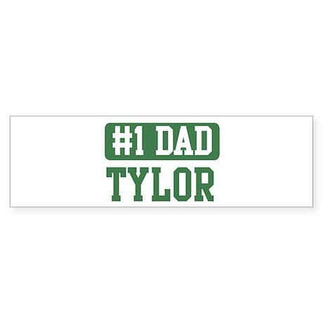 Number 1 Dad - Tylor Bumper Sticker