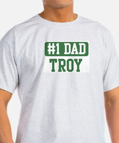 Number 1 Dad - Troy T-Shirt