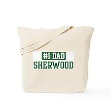 Number 1 Dad - Sherwood Tote Bag