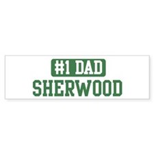 Number 1 Dad - Sherwood Bumper Bumper Sticker