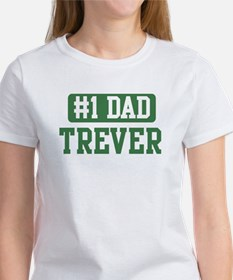 Number 1 Dad - Trever Women's T-Shirt