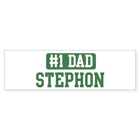 Number 1 Dad - Stephon Bumper Sticker