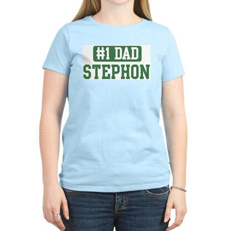 Number 1 Dad - Stephon Women's Light T-Shirt