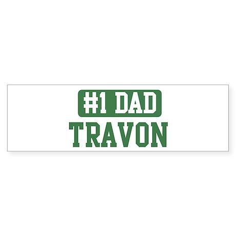 Number 1 Dad - Travon Bumper Sticker