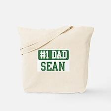 Number 1 Dad - Sean Tote Bag