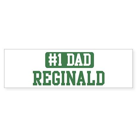 Number 1 Dad - Reginald Bumper Sticker
