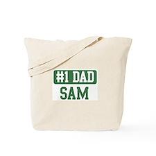 Number 1 Dad - Sam Tote Bag