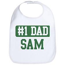 Number 1 Dad - Sam Bib