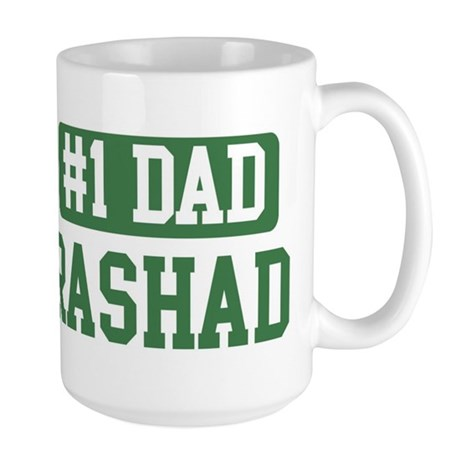 Number 1 Dad - Rashad Large Mug