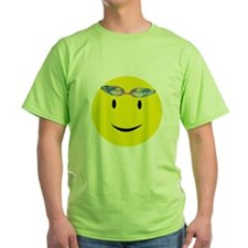 Swimmer Smiley / Eat my Bubbl T-Shirt