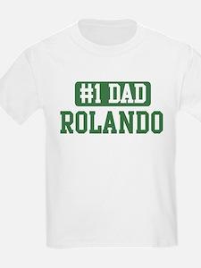 Number 1 Dad - Rolando T-Shirt